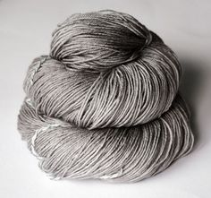 laboratory mouse knocking on heaven's door:  merino + silk superwash yarn, fingering weight
