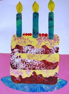 Eric Carle Inspired Birthday Cake..