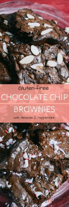 Good Life Detroit | Gluten-free Chocolate Chip Brownies (As Seen on ABC 7 WXYZ Detroit!) | http://goodlifedetroit.com