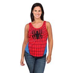 I Am Spiderman Ladies' Tank