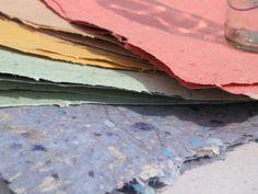 papermaking tutorial