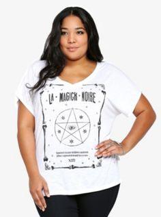 La Magick Noire V-Neck Tee