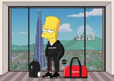 """GIVEAWAY CLOSED Congrats to You are the winners of our giveaway with they will DM you shortly! Take off when you use the code """"boost"""" at checkout! Classic Cartoons, Cool Cartoons, Cartoon Art, Cartoon Characters, Image Swag, Simpson Wallpaper Iphone, Trill Art, Simpsons Art, Supreme Wallpaper"""
