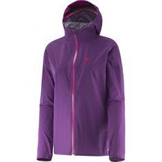 SALOMON BONATTI JACKET PURPLE giacca impermeabile waterproof  #salomon #bonatti #trailrunning #trail #giacca