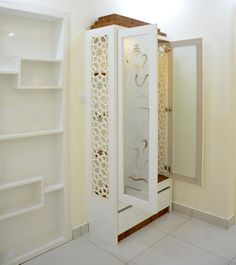 70 Ideas open closet in bedroom corner unit with mandir Room Doors, Bedroom Corner, Pooja Room Door Design, Temple Design For Home, Room Partition Designs, Living Room Partition Design, Baby Room Closet, Room Interior, Room Door Design