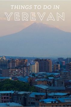 Top things to do in Yerevan (Երեւան) / Republic of Armenia in the South Caucasus. No longer part of Russia, Yerevan is a true jewel of early Soviet architecture. travel guide to yerevan armenia travel. Cafesjian Museum, beautiful armenia travel trips. bucket list travel items  ☆☆ Travel Guide / Ideas by #Inspiredbymaps ☆☆