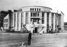 Kauchuk Factory Club (Melnikov, Konstantin. 1929)