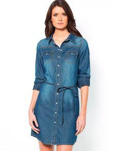 I Dress, Shirt Dress, Jeans, Stylish, Casual, Denim, Shirts, Dresses, Om