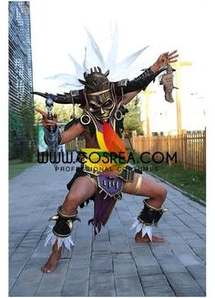 Diablo 3 Witch Doctor Cosplay Costume