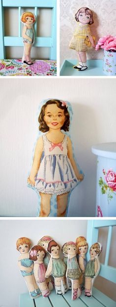 #~ baby2go cloth dolls so adorable ~    http://wp.me/P291tj-cW. Love these