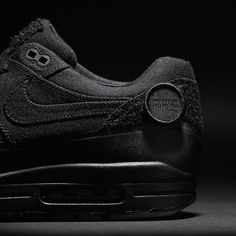 Nike Air Max 1 Patch #Black, #Sneakers, #Train