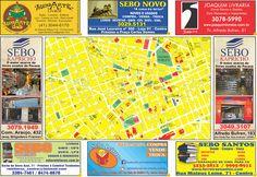 Sebos de Curitiba: SEBOS & LIVRARIAS  10 ª EDIÇÃO MAPA