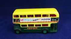 CORGI DOUBLE DECKER BUS | MADE IN GB | THE COLOURFUL WORLD OF ADDIS | OMNIBUS