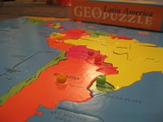 Montessori Messy: Geography on the Cheap, Part 2