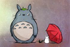 totoro and umbrella - Google Search
