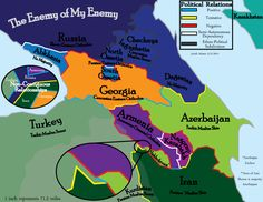 The Enemy of My Enemy: Geopolitical Relations of a Diverse Caucasus