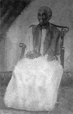"""""""According to Alfredo Calvo, Ferminita Gómez made approximately 60 Ochas in her lifetime, many of them with Ma Moncerrate as the Oriate. When he met her, she was already an old woman and he a young child. It was foretold in many itas that he would be the person to carry on the traditions of her house. In addition to teaching him about the religion, she also taught him to read. She put Agayu directly to his head, saying the Orisha of the volcanoes would either kill him or save him,He crowned…"""