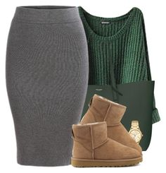 """""""#2: Get Cute For Bae But Still Chilled Fit"""" by chilly-gvbx ❤ liked on Polyvore featuring Yves Saint Laurent, Michael Kors and UGG Australia"""