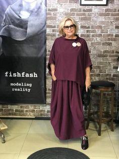 Womens Fashion Over 30 Curvy Ideas For 2019 60 Fashion, Over 50 Womens Fashion, Fashion Over 50, Modest Fashion, Women's Fashion Dresses, Plus Size Fashion, Fashion Looks, Fashion Trends, Maxi Dresses