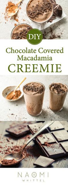 Chocolate Covered Macadamia Creemie - For A Fat – Fueled Lifestyle Green Cleaning, Better Health, Kitchen Hacks, Chocolate Covered, Ketogenic Diet, Health And Wellness, Smoothies, Fat, Healthy Recipes
