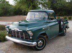 classic #pickup #trucks Classic Pickup Trucks, Chevy Pickup Trucks, Gm Trucks, Chevy Pickups, Cool Trucks, Lifted Trucks, Diesel Trucks, Ford Diesel, 1956 Chevy Truck