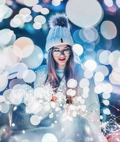 Discovered by Find images and videos about girl, photography and winter on We Heart It - the app to get lost in what you love. Fairy Light Photography, Photography Poses Women, Girl Photography Poses, Night Photography, Amazing Photography, Photography Hashtags, Photography Composition, Indian Photography, Photography Magazine
