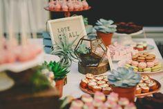 Dessert table styling and tablesetting NINA weddings - www.ninaweddings. Credit yes i do photography