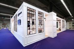 Exhibition booth from The Inside standbuilding at Heimtextil Frankfurt - Peninsula stand - 176 m2