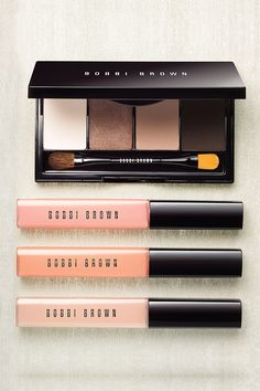 Get back to basics with the Illuminating Nudes Collection by Bobbi Brown. #SaksBeauty