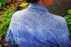 "Second Chances by Susan: The ""Tattooed"" Denim Jacket"