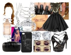 """""""Remember Me?"""" by lavonneb88 ❤ liked on Polyvore featuring Alexis Bittar, Elie Saab, Burberry, Annello and Blue Nile"""