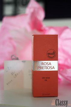 Natural Cosmetic - Rosa Pretiosa - Organic Ingredients - 24 hours Skin Care - Dry Rose Oil - Rosenöl