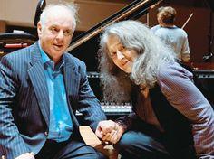 Daniel Barenboim y Martha Argerich