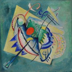 Vasily Kandinsky / Red Oval / 1920 / oil on canvas