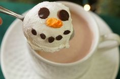 In the Kitchen with Jenny: Melting Snowman Hot Cocoa Toppers #hotcocoa @inkitchenwjenny
