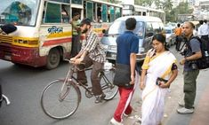 Once seen as a poor man's transport, cycles are now gaining popularity with urban workers fed up of traffic chaos Dhaka Bangladesh, Busy Street, Comebacks, Cities, Cycling, Street View, Bike, Urban, Bicycle