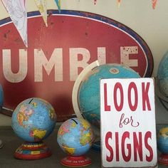 Look For Signs Little