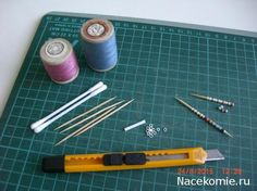 how to: mini thread spools: