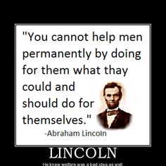 Lincoln quoted