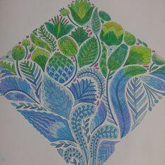 Love this color combo @milliemarotta #milliemarotta #wildsavannah #adultcoloring…