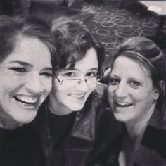 Marci, Beth, me CES