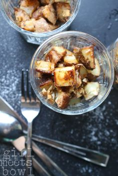 "Roasted Potatoes with Chimichurri Sauce--DHSPC - This recipe is modified from one by Donna ""OMG I love her"" Hay."