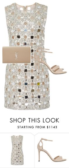 """""""Untitled #2180"""" by ritaraho ❤ liked on Polyvore featuring KaufmanFranco, Dolce&Gabbana and Yves Saint Laurent"""