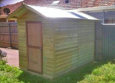 Portsea Timber Garden Shed (1.7m x 2.9m)