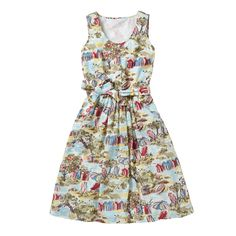 Dresses & Skirts | Waterfront Button Front Dress | CathKidston