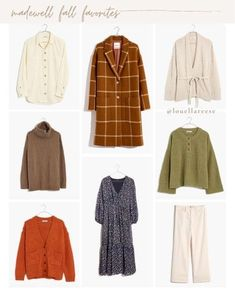 madewell fall favorites, madewell fall top picks, fall coat, fall sweaters, fall dress, fall fashion, fall outfit idea | @louellareese | LIKEtoKNOW.it