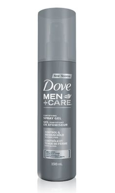 Dove® medium hold alcohol free spray gel with caffeine fortifies and helps you hold on to your everyday style, whatever your day entails. #hairstyles