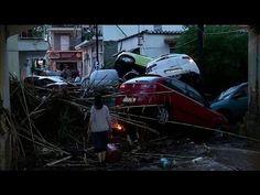 Greek hit by flash floods