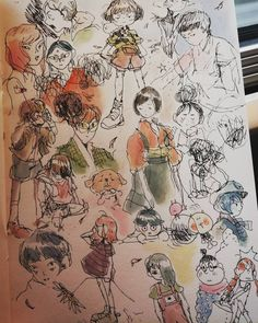 「sunflo w e r x」 Sketchbook Drawings, Cool Drawings, Art Sketches, Sketching, Sketchbook Inspiration, Copics, Pretty Art, Aesthetic Art, Love Art