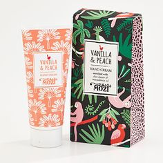hand cream - vanilla & peach